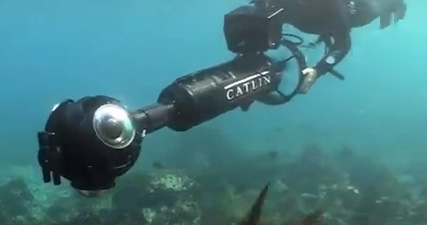 Underwater camera used to make Google Underwater Street View