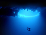 Underwater robot maps ice