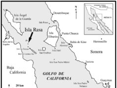 Gulf of California map