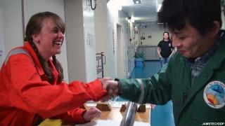 Handshake ocean-floor fault found