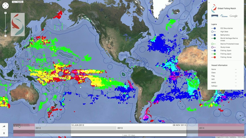 Global Fishing Watch shows you ships fishing in protected areas