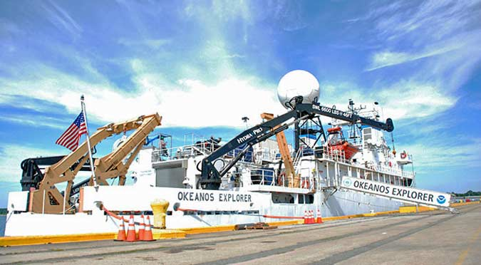 Exploring the Ocean with the Okeanos Explorer