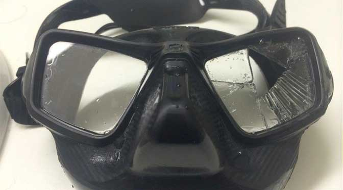 Scuba diving mask recall