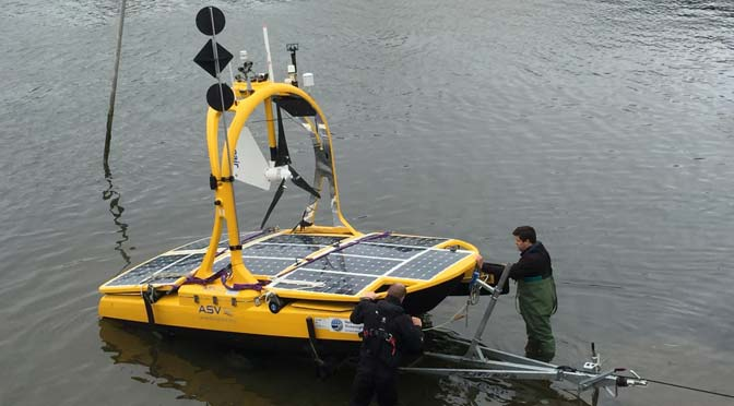 Robots to measure marine wildlife
