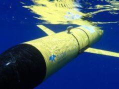 Underwater glider with sensors