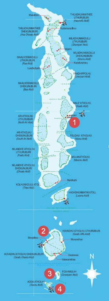 South Maldives Atolls