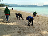 Borocay clean up