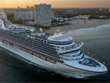 Princess Cruises given record fine for dumping oil at sea