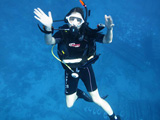 Relaxed diver
