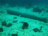 Wreck underwater museum Dominican Republic