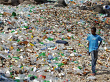 A million bottles a minute: world's plastic binge 'as dangerous as climate change'