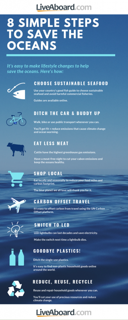 8 simple steps to save the oceans
