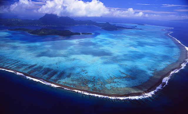 French Polynesia atoll