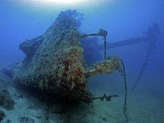 Gosei Maru Wreck. Photo courtesy of SS Thorfinn