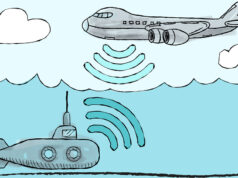 Wireless communication breaks air-water boundary