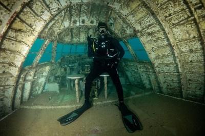 Bahrain diver