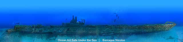 The wreck of the Rubis